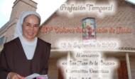 Tóma de Hábito Hna. María Dolores del Corazón de Jesús