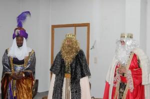 Los Reyes Magos en la Sagrada Familia