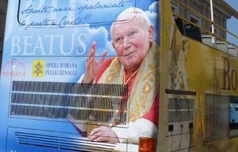 TV sobre Juan Pablo II en vísperas de beatificación, estaremos ahí