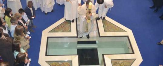 Piscina bautismal Pascua 2012