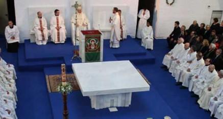 Consagración del altar y templo