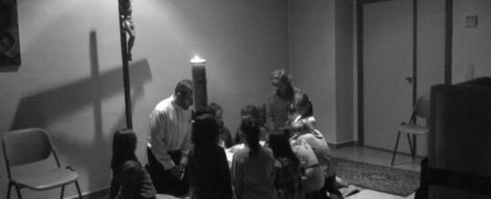 Jornadas de primera iniciación a la oración de niños pequeños