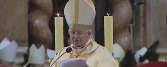 El Papa entregará este lunes el palio a nuestro cardenal Cañizares como arzobispo de Valencia