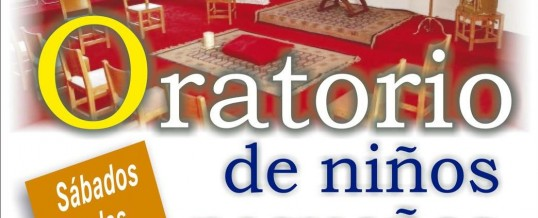 INICIO ORATORIO DE NIÑOS PEQUEÑOS