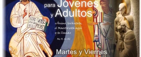 CRISTO VIENE: CATEQUESIS PARA JÓVENES Y ADULTOS