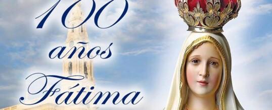 Celebración de la Virgen de Fátima