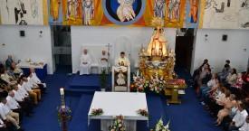 Visita de la Virgen de los Desamparados en imágenes
