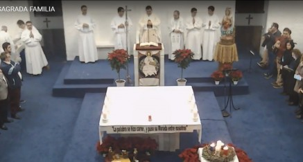 Retransmisión de la Fiesta de la Sagrada Familia