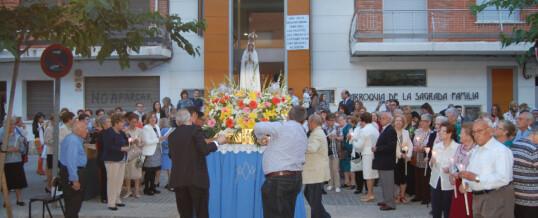 Celebración de la Virgen de Fátima 2018