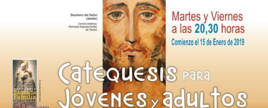 COMIENZAN LAS CATEQUESIS DE JÓVENES Y ADULTOS