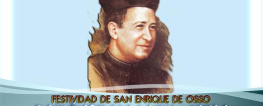 Festividad de San Enrique de Ossó Fotos y retransmisión