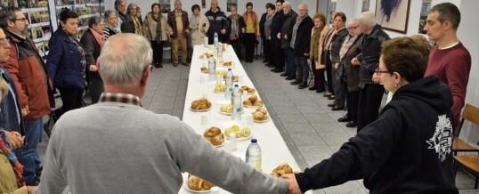 Cena solidaria con Manos Unidas (Fotos)