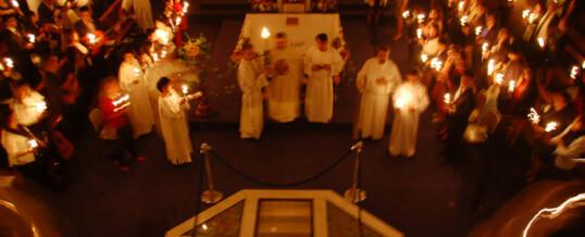 Feliz Pascua de Resurrección (Fotos triduo Pascual)