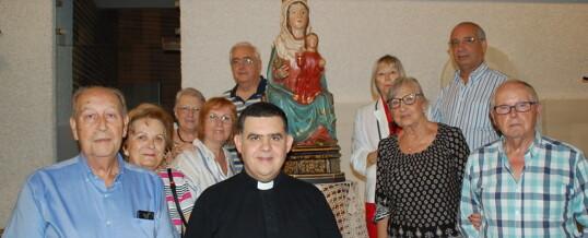Nos visitó la «Mare de Déu del PÒPUL»  (Fotos)