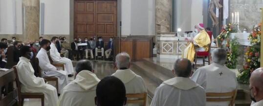 RITO DE «ADMISSIO» de Pablo Andreu seminarista de nuestra parroquia (Fotos)